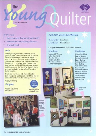 The Young Quilter Newsletter