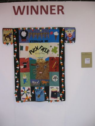 YQ Competition at Festival of Quilts