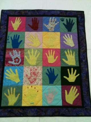 Hands of Friendship quilts finished!