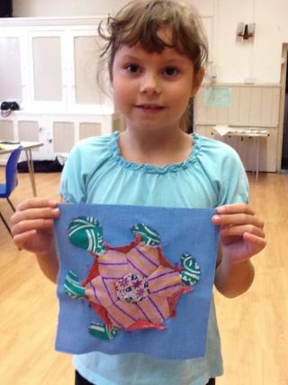 Mosaic Patchwork Turtle