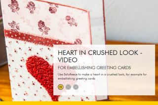 Embellishing Greeting Cards by Vlieseline