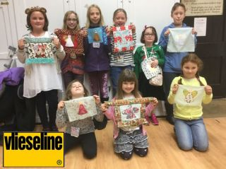 Christmas activities using Vlieseline