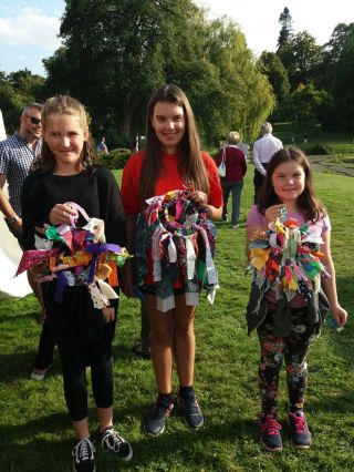 Sit and Sew at Hever Castle