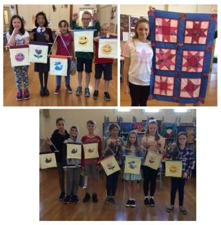 Smiling faces...happy quilting!