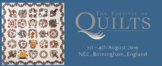 Festival of Quilts YQ Competition deadline is 24th May!!